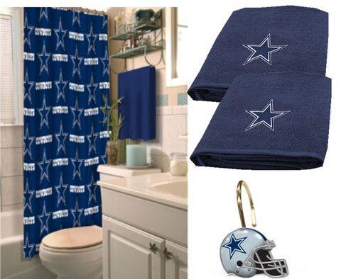 Dallas Cowboys Deluxe Bath Set Only 92 20 At Www Sportsfansplus