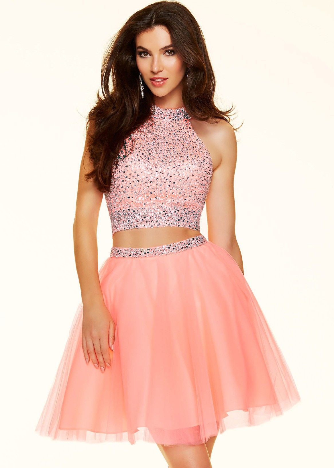 Sticks u stones by mori lee sequin pc party dress mori lee