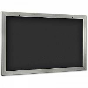 CERTEO Vitrine d'affichage - ouverture porte 180° vers le bas - grand format