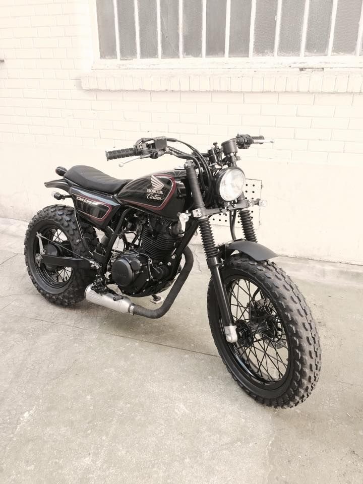 yamaha tw 125 neo vintage re designed cafe racer motorcycle pinterest motocicleta motos. Black Bedroom Furniture Sets. Home Design Ideas