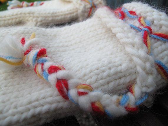 Mittens Swedish Lovikka mittens traditional by JezebelAdrian Scandinavian Nordic design hand knitted felted alpaca merino wool