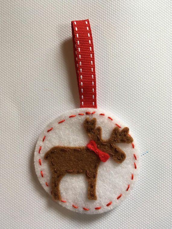 Moose christmas decoration Filc Pinterest Moose, Decoration - moose christmas decorations