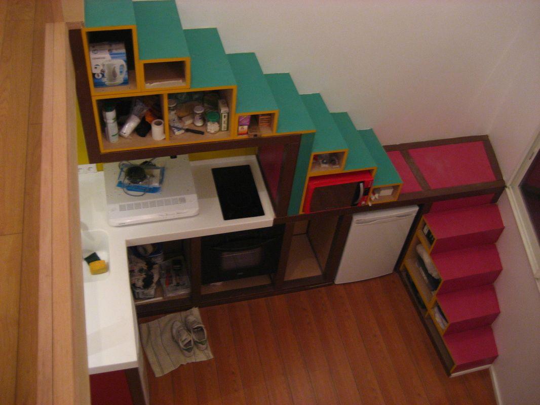 Escalier En Bois Avec Rangement Épinglé par heidi horan sur alternative housing | rangement