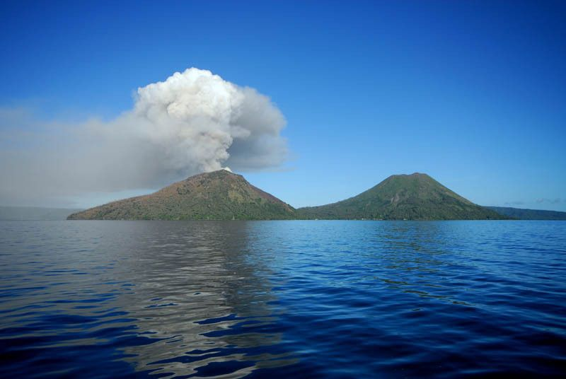 Picture of the Day: Volcanoes – Active vsDormant