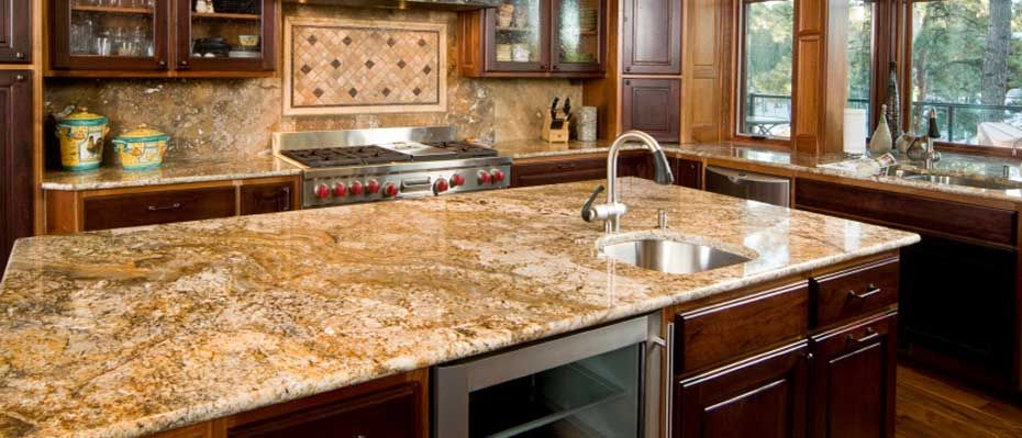 Granite Countertops   Traditional   Kitchen Countertops   Other Metro   By  Accent Surfaces. How About It  Countertop And Backsplash As One?