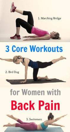 3 core tightening wo  back strengthening exercises