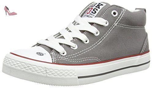 36ur202-710200, Sneakers Basses Femme, Gris (Grau 200), 36 EUDockers by Gerli