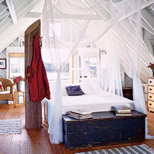 Rustic Beach Bedroom