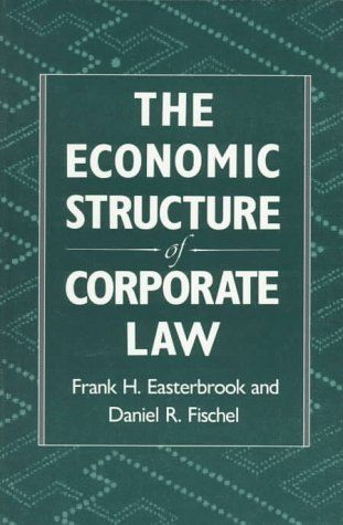 DOWNLOAD PDF] The Economic Structure of Corporate Law Free