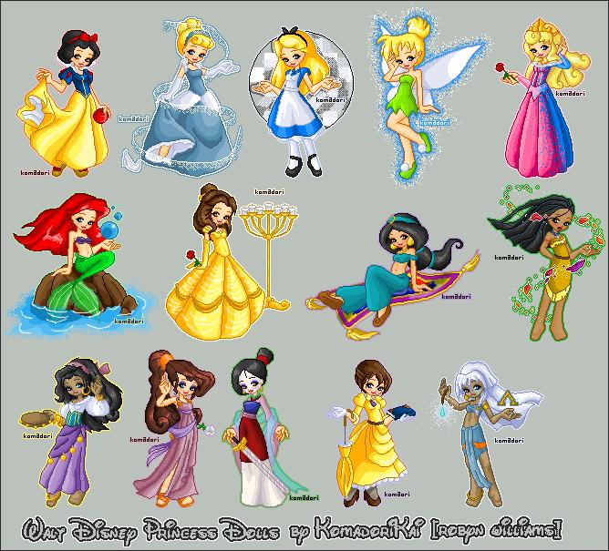 Disney Chibi princess tinkerbell   los japoneses les encanta dibujar los ojos enormes, y eso que ellos ...