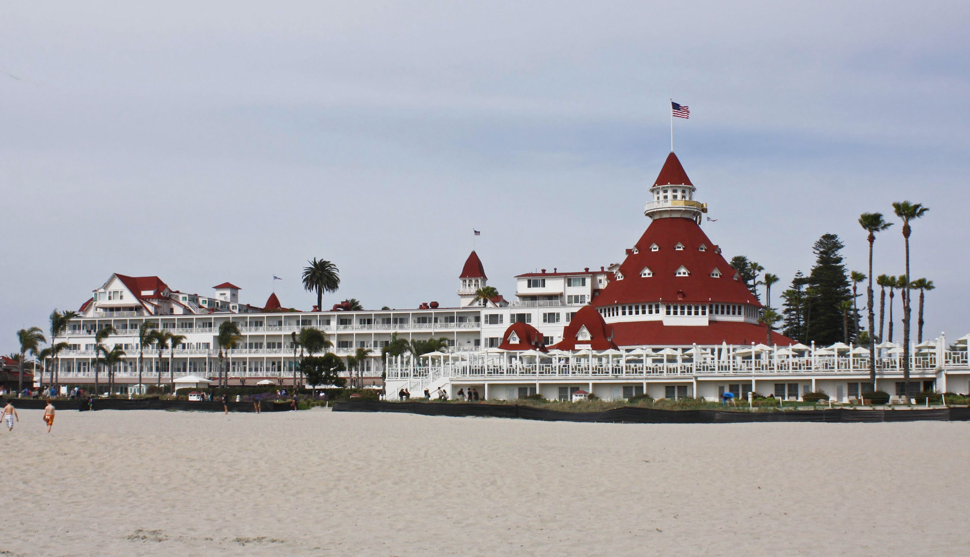 The Hotel Del Located On Beautiful Coronado Island Just Outside Of Downtown San Go