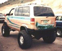 91 Aerostar E4wd Lift Kit Ford Explorer And Ranger Forums Serious Explorations 4x4 Van Van Lift Kits