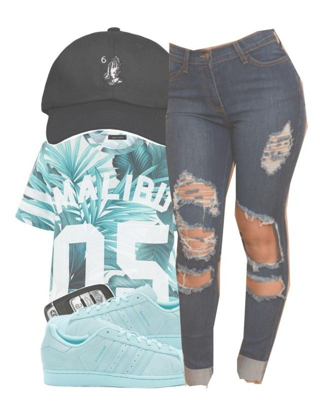 """""""Ten Nine Fourteen"""" by mxdnightziam ❤ liked on Polyvore featuring October's Very Own and adidas Originals"""