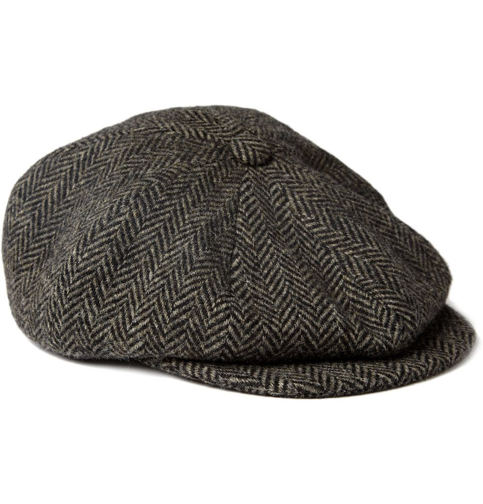 1ff0d4c77ac Paul Smith Shoes   Accessories Herringbone Wool Flat Cap