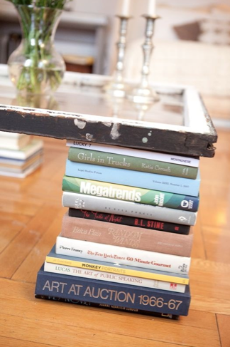 Stack Books Up And Use Them As Coffee Table Legs Cheap Coffee