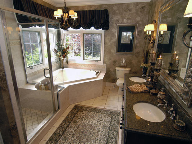 Tuscan Bathroom Decor Luxury Master Bathroom Decorating, Romantic Tuscan  Style Bathrooms Simple Bath Accessories Add