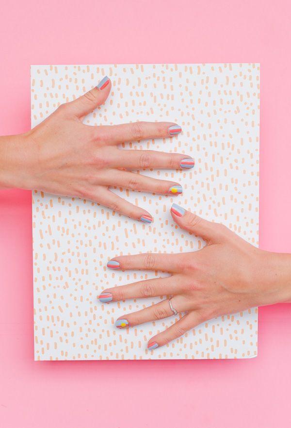 Nailed It: A Sunny Summer Nail Art Tutorial   Summer nail art, Art ...