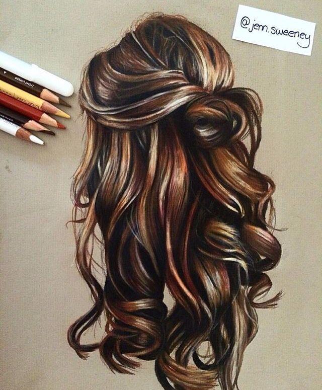 morena art. draw hair