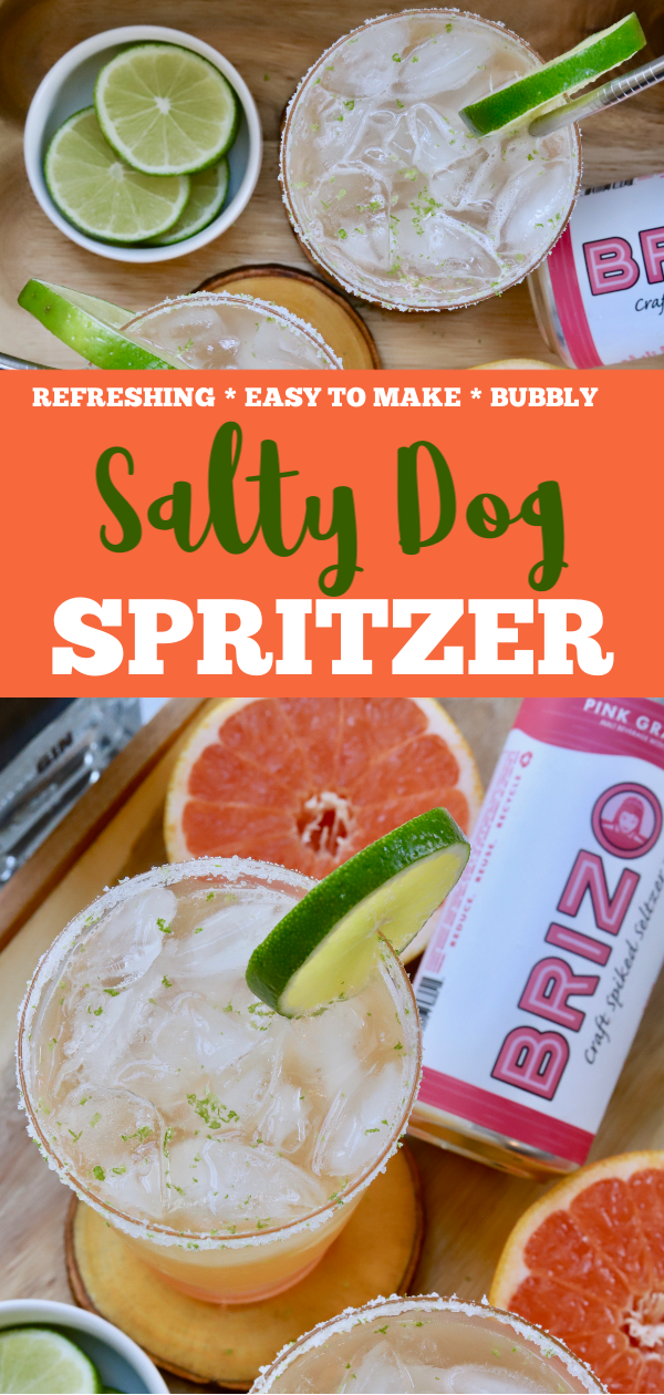Super Simple Salty Dog Spritzer - Slice of Jess