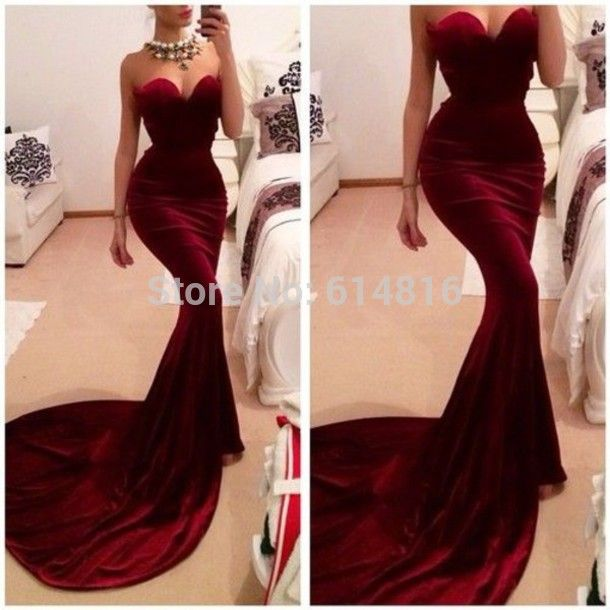 Fitted Mermaid Prom Dresses