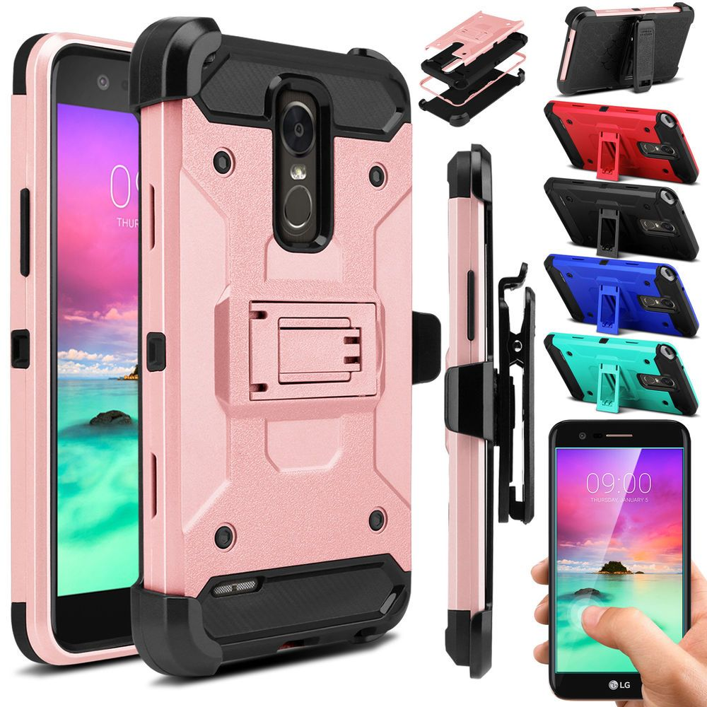 competitive price 65167 5feb5 For LG Stylo(Stylus) 3/ 3 Plus 2017 Screen Protector Case Shockproof ...