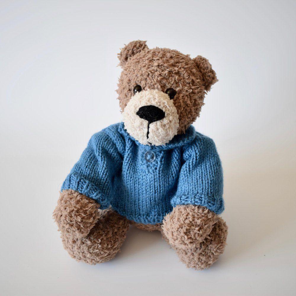 Blueberry Sweater Knitting pattern by Amanda Berry | Teddy ...