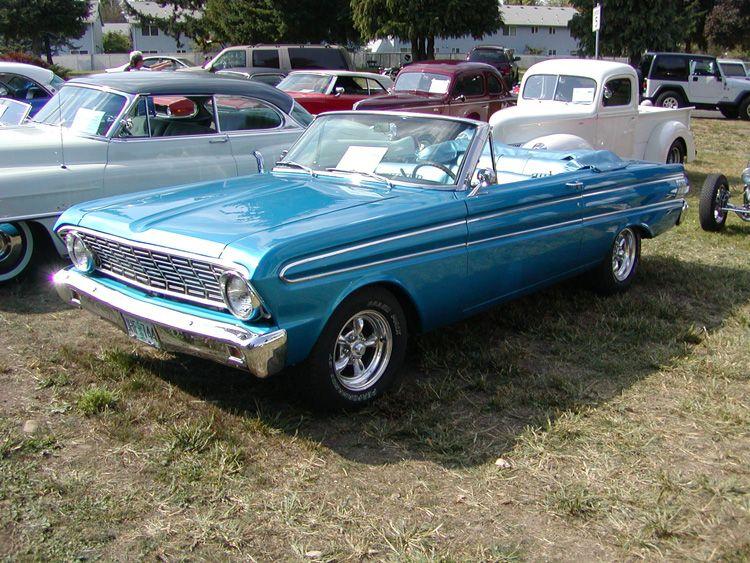 1964 ford falcon convertible <3