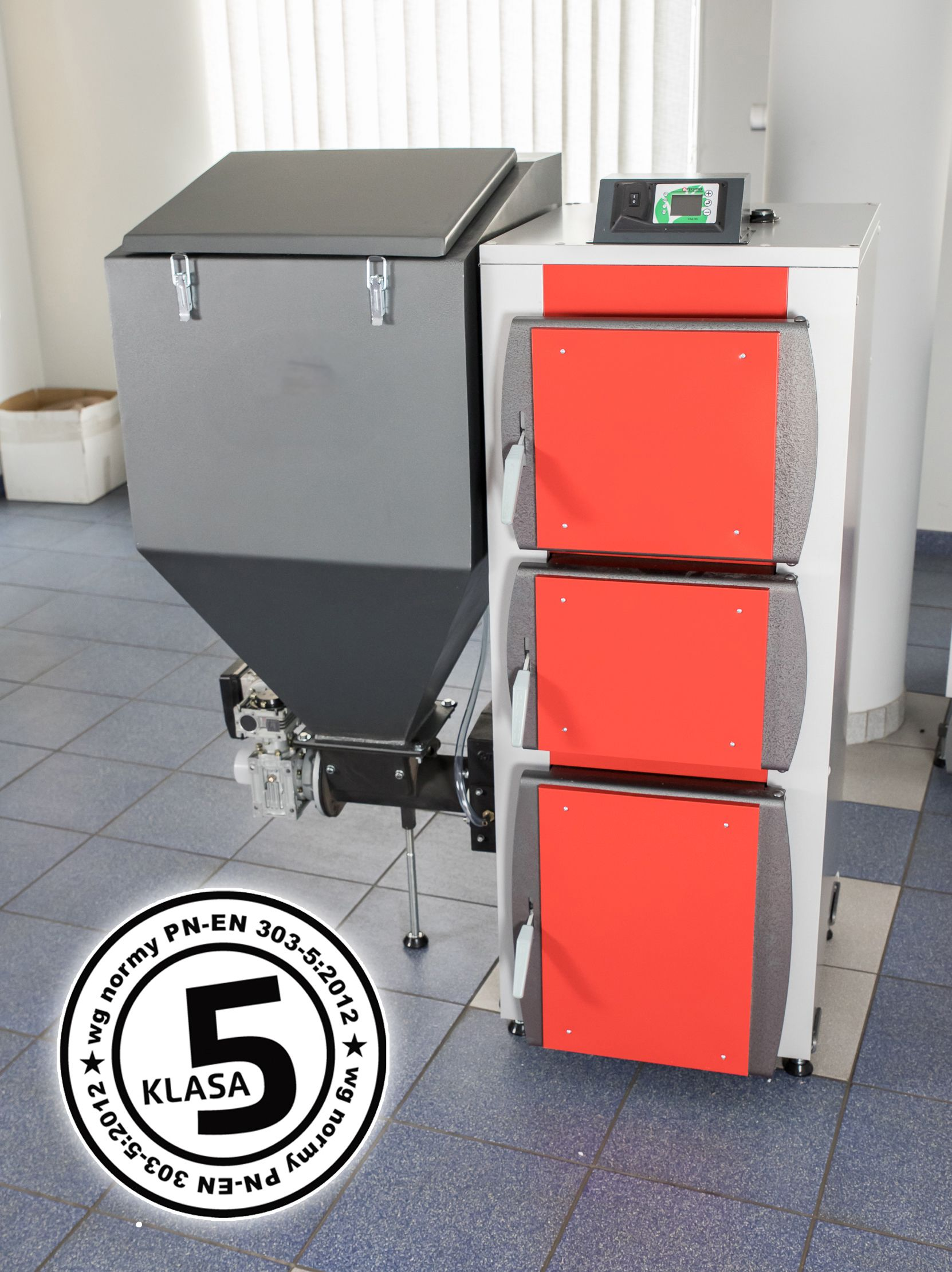Piec Kociol Slimak Podajnik 9kw 5 Klasa Ecodesign Filing Cabinet Storage Furniture
