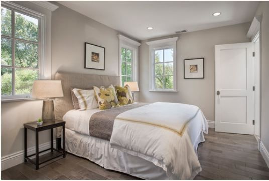 Benjamin Moore Edgecomb Gray ~ A Greige, A Warm Gray. It Is Still A Cool  Tone But Has A Warm Undertone. The Trim Color Is Benjamin Moore Decorator  White In ...
