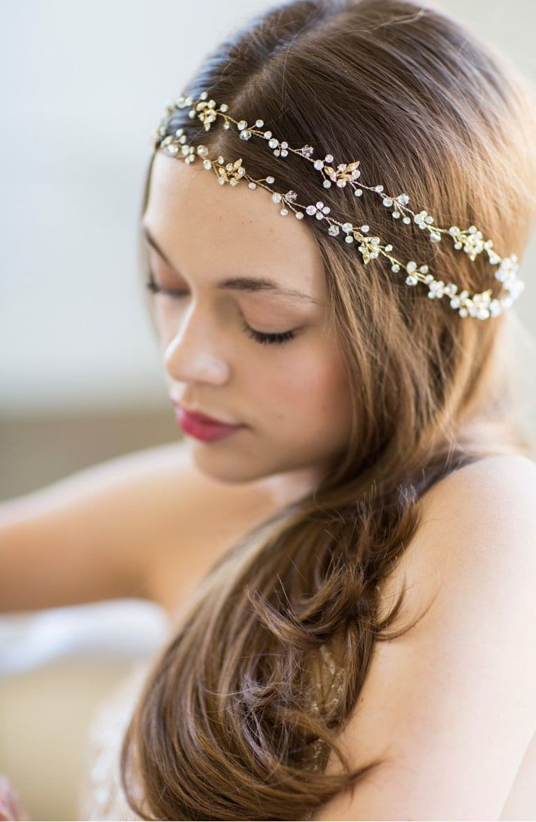 the case for wearing a tiara on your wedding day | wedding