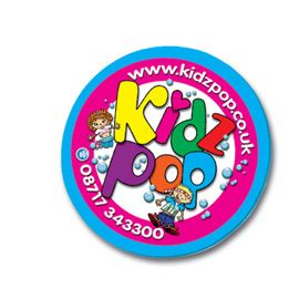 Shaped Foam Backed Badges - A Colourful and different way to promote and advertise you business. Badges can be cut to any shape and are printed full colour as standard! Gloss laminate finish and coloured foam backing.