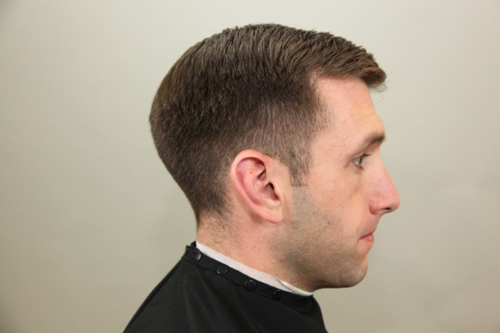 I Love This Tapered Crew Cut 3 Model Pinterest Crew Cuts And