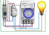 Cableado De Contactor Y Temporizador Electronico Esquemas Electricos Electromecanica Electricidad Y Electronica