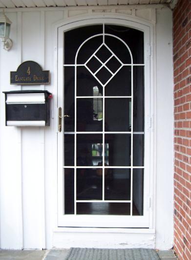 Security Doors Safety Doors Tempered Glass Screens Storm Door Locks Round Top Doors Arch Top Doors Custom Security Door Security Screen Door Custom Door