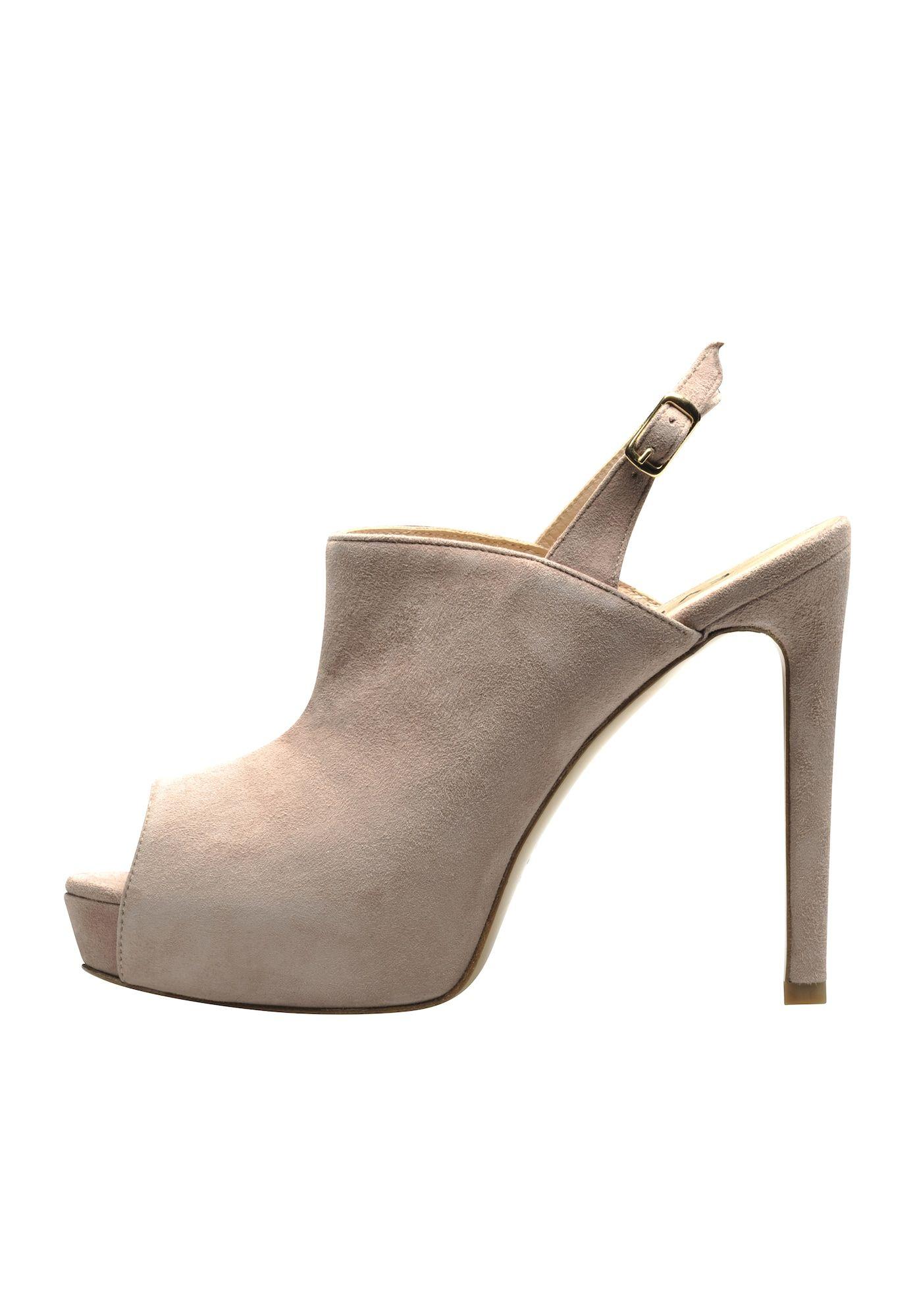 Evita Sandalette Damen Altrosa Grosse 36 Sandaletten Damen Ledersandalen Damenschuhe