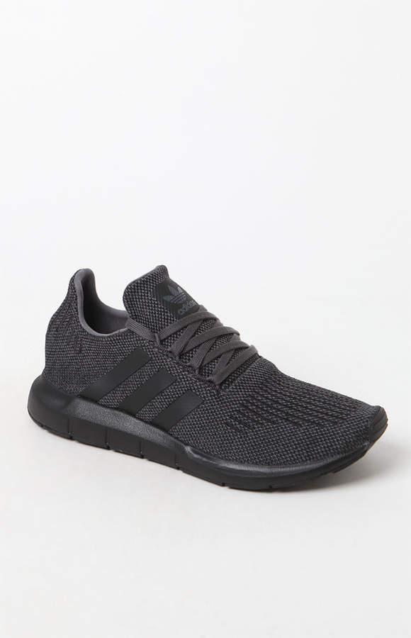 53ecb642e adidas Swift Run Grey   Black Shoes