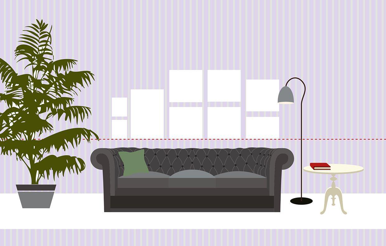 Appendere Quadri Su Scale come appendere i quadri: 10 idee da copiare | muro di