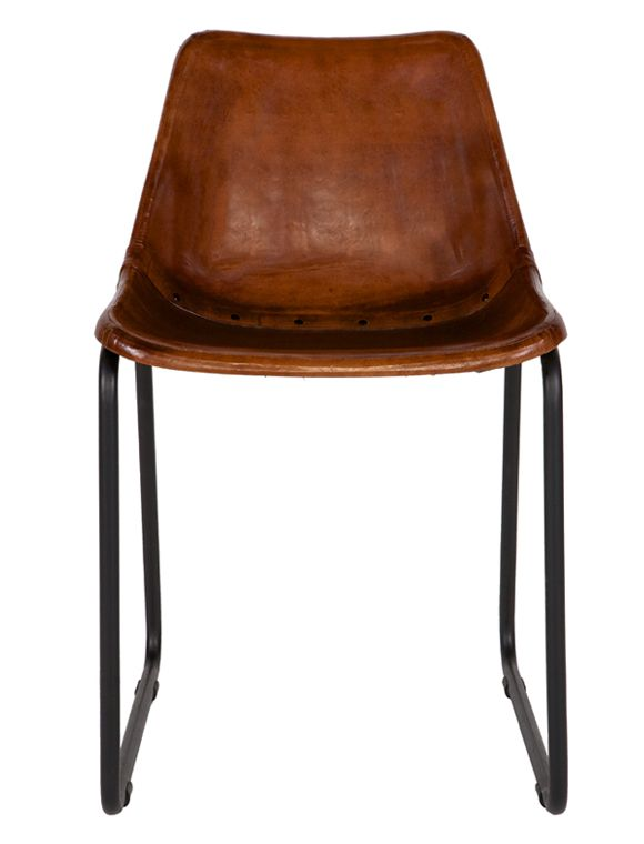 Stuhl Sitzschale Leder Von De Eekhoorn Mobel Stuhle