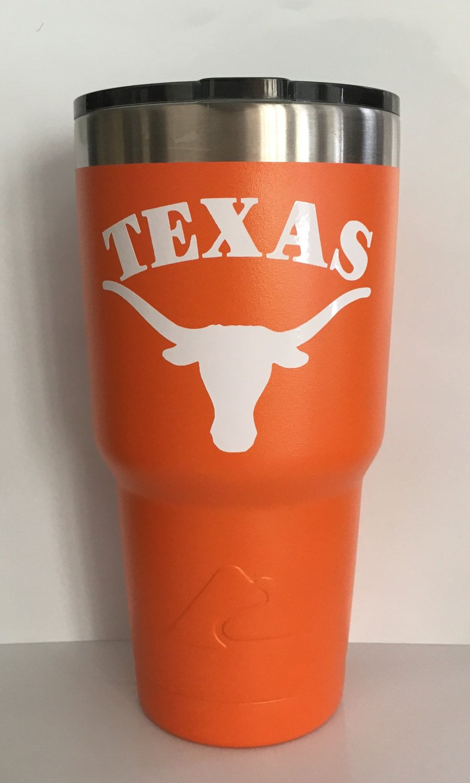PINK powder-coat Emblem University of Texas Longhorn