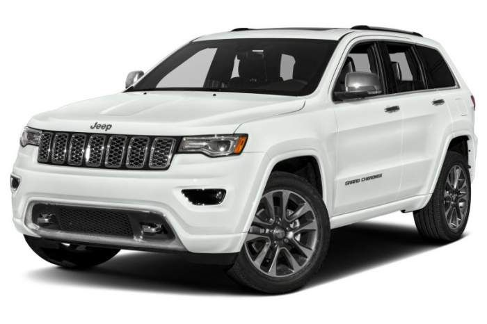 2017 Jeep Grand Cherokee Overland Review Price Interior Jeep