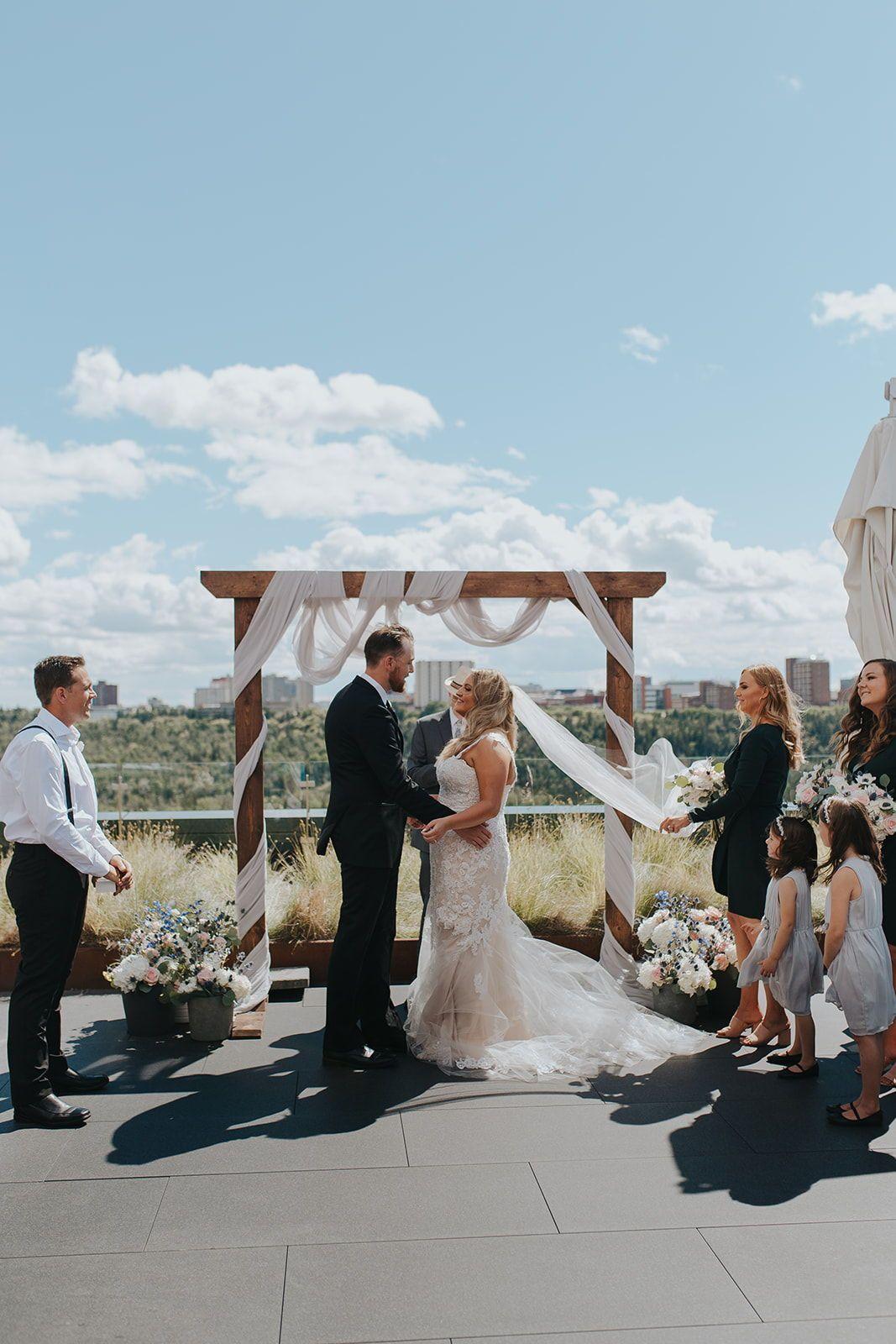Edmonton Wedding Ceremony Outdoor Ceremony Locations Edmonton Wedding Outdoor Ceremony Outdoor Wedding Ceremony