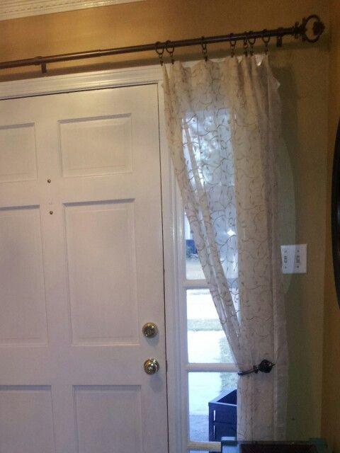 Curtain For Foyer Window