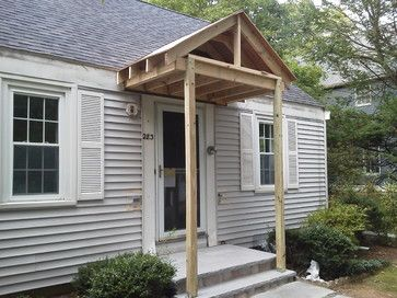 Front Entry Portico Traditional Entry House With Porch Front Porch Design Porch Design