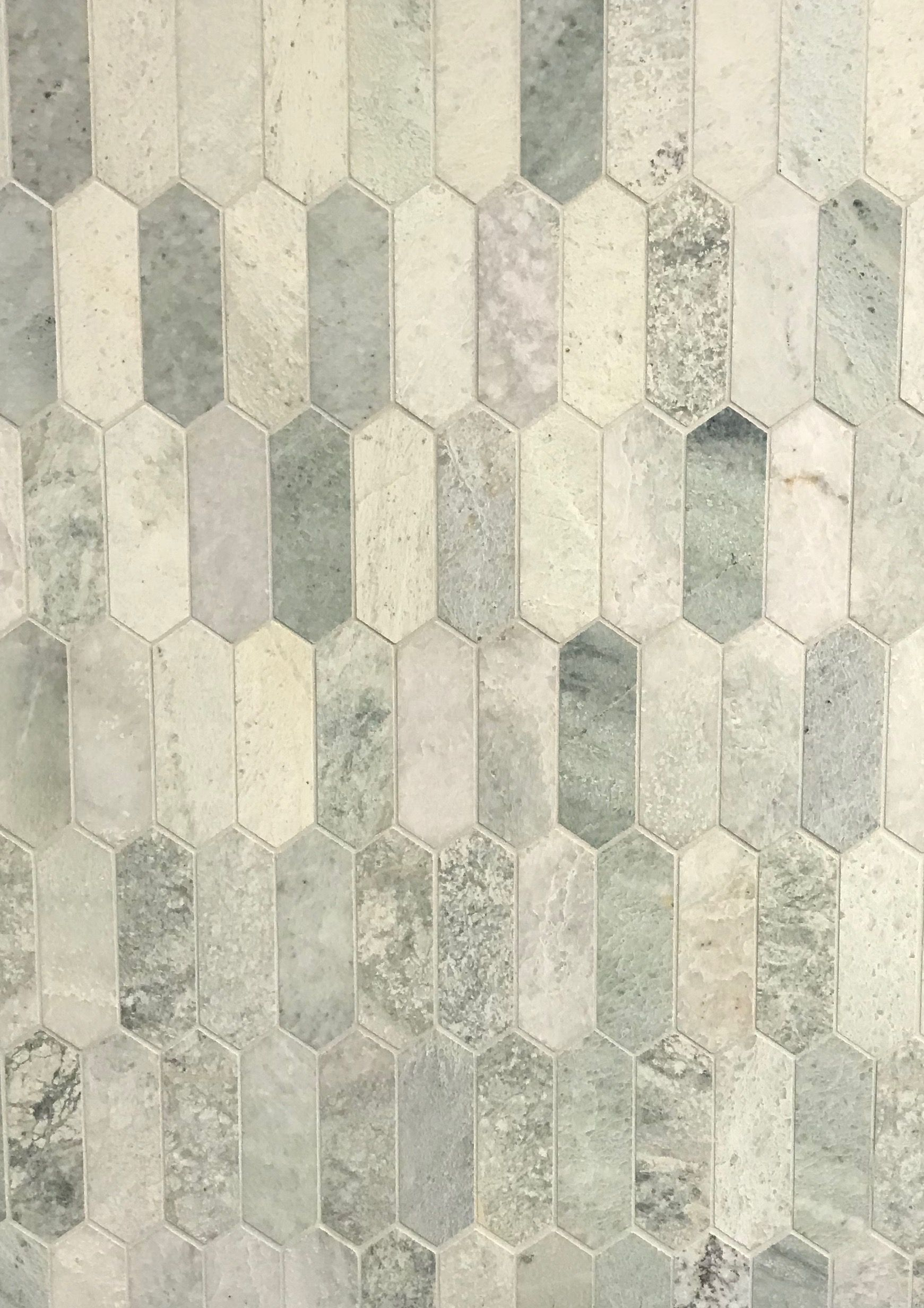 National Tiles Ming Green Marble Picket Mosaic Tiles Green Flooring Ming Green Tile Green Tile