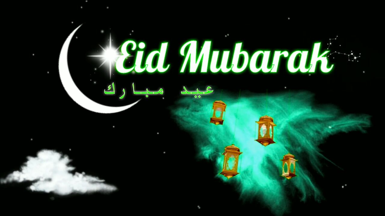 Eid Mubarak Whatsapp Status Video A2zwishing Moon Wishes