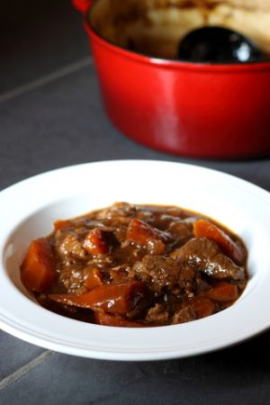 Slow Cooked Hot Pot (can use beans/lentils instead of Lamb)