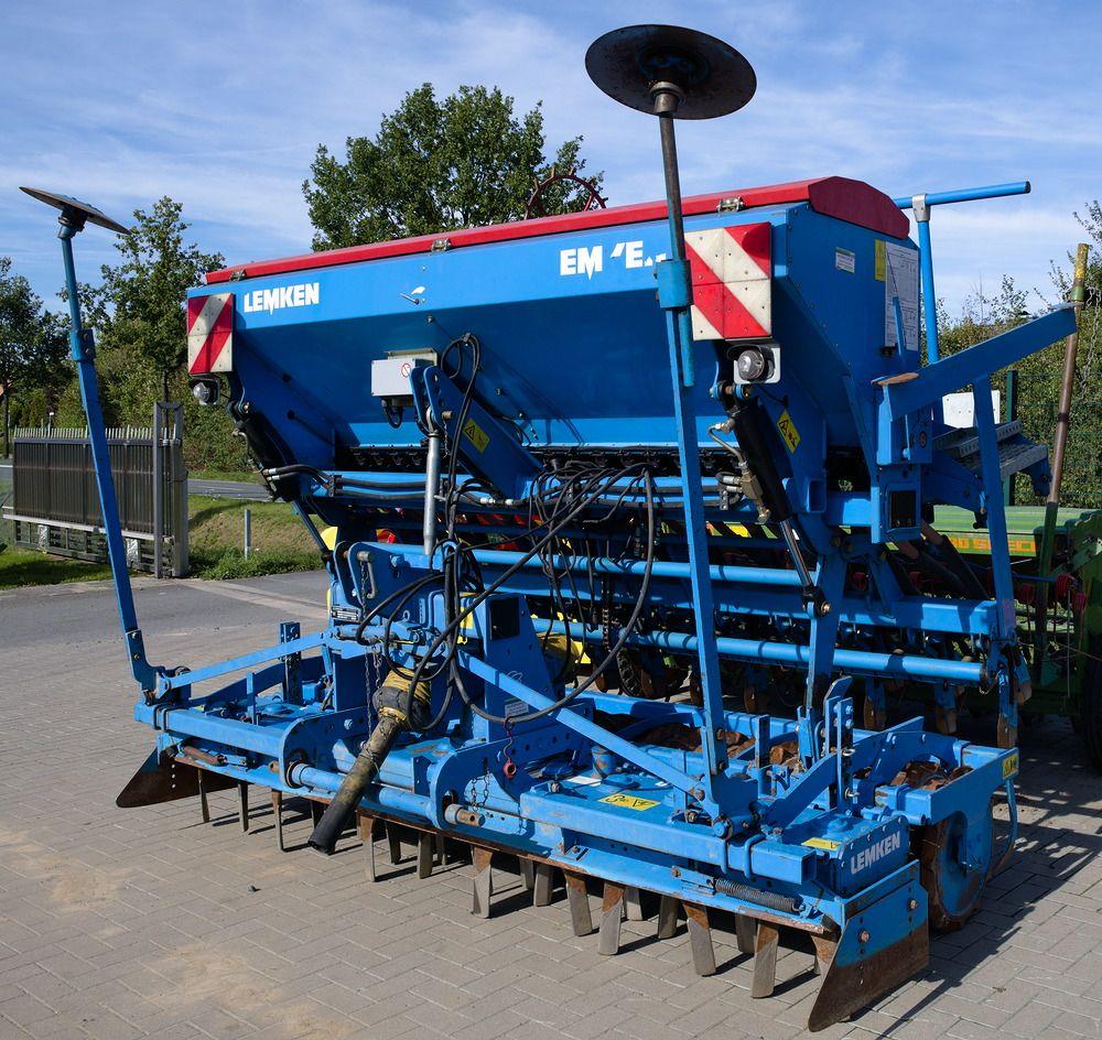 Lemken Drillkombination Kreiselegge Zircon 7 S 300 Aufbaudrillmaschine Saphir 7 300 St 8 Stegemann Landtechnik Aufbau Kreisel Landmaschinen