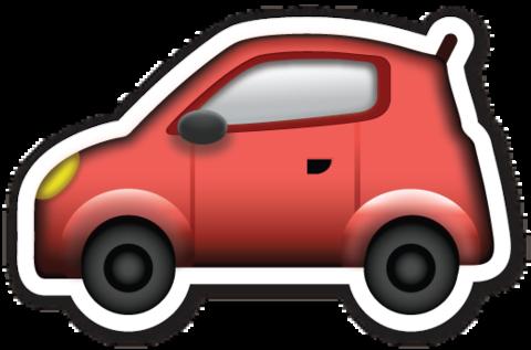 Automobile Car Emoji Emoji Stickers Emoji