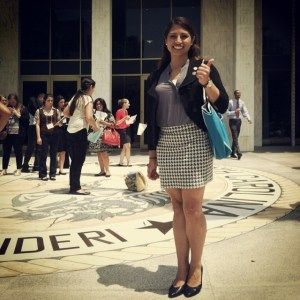 Paola Salas Paredes ('16) is a HIPster
