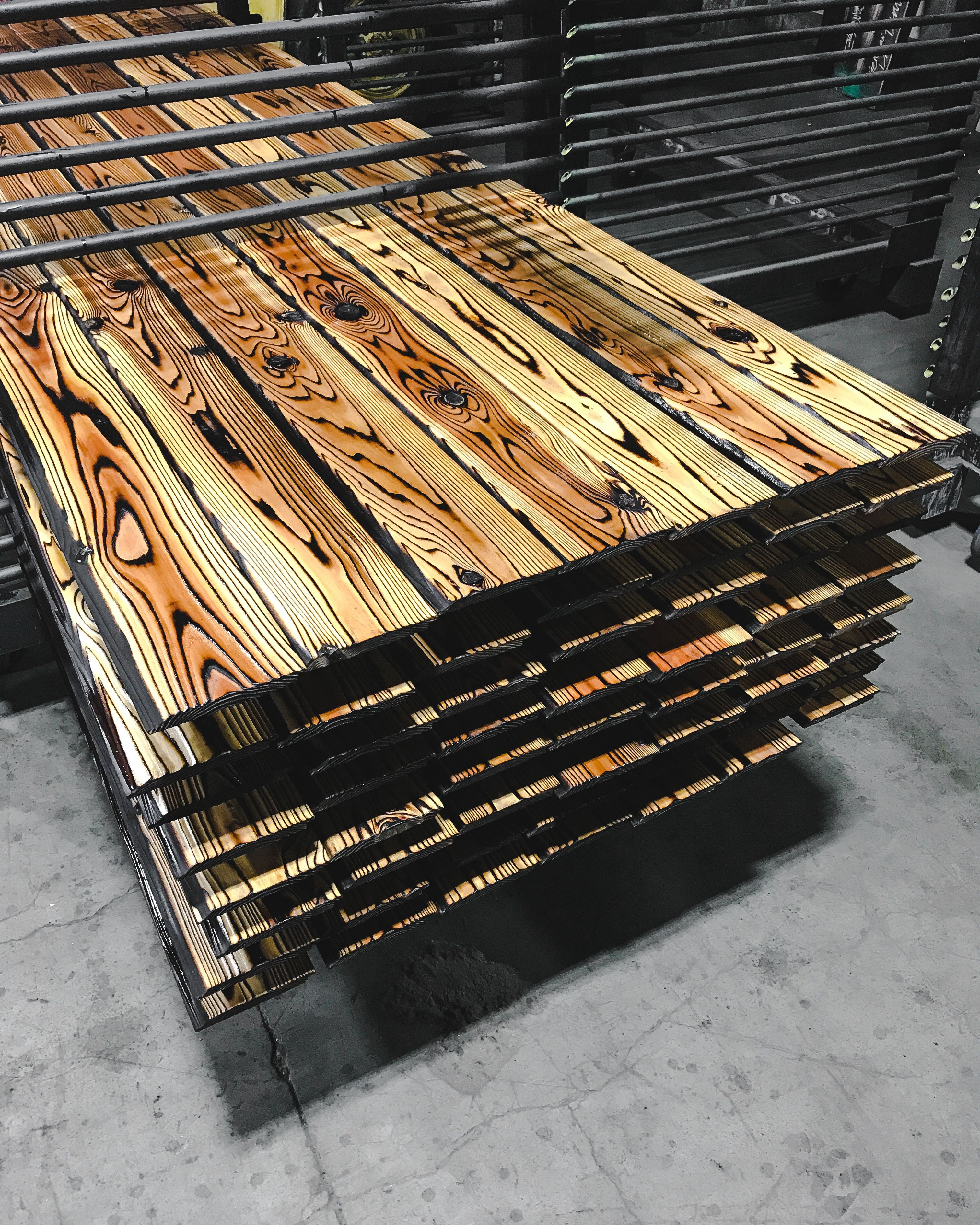 Pika Pika Japanese Burnt Cedar Siding And Flooring For